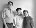 Sergio Ramírez, Ernesto Cardenal y Claribel Alegría